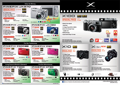 Fujifilm has the FINEPIX compact cameras and X-series retro camera for better quality photos.