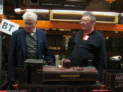 Model Trains - Museum Depot - London Transport Museum Open Weekend March 2012
