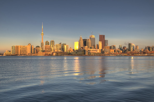 Toronto - Sunrise - Golden Hour