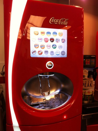 The Pop Machine at Five Guys