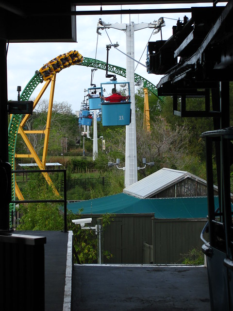 Busch Gardens Tampa 103 Skyride Cheetah Hunt Flickr