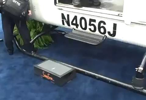 Senior Step Stool use for Helicopter at Heli Expo 2012