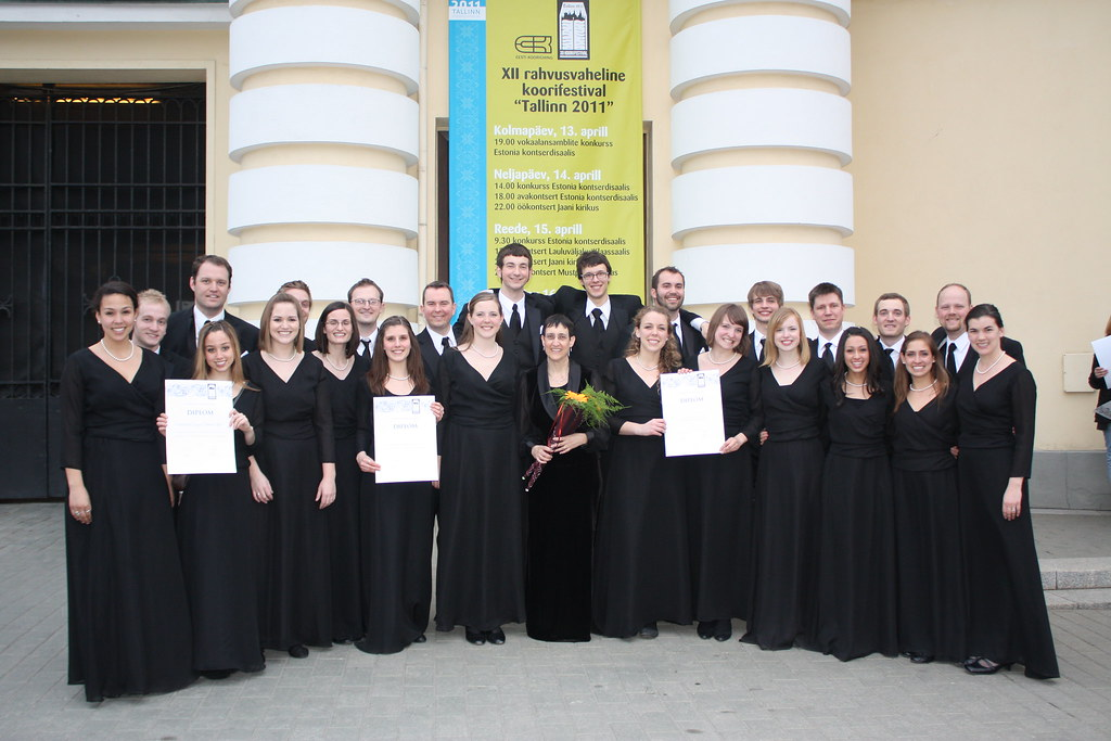 University of Oregon Chamber Choir at the 2011 Tallinn International Choir Festival in Estonia