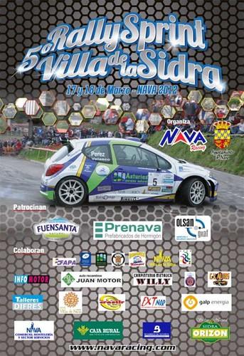 5 Rallysprint villa de La Sidra 2012