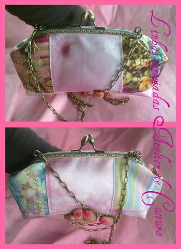 cloutch em patchwork by ♥Linhas Arrojadas Atelier de costura♥Sonyaxana