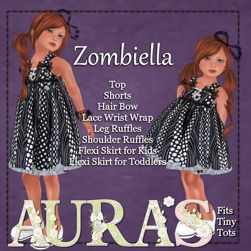 Zombiella Ad by AuraMilev