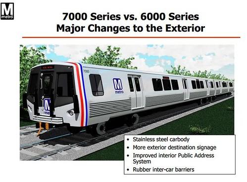 wmata 7000 series railcars