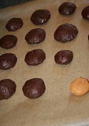 печенье с арахиовой начинкой 003