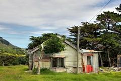 Old house, Te Kopua, Bay of Plenty, New Zealand