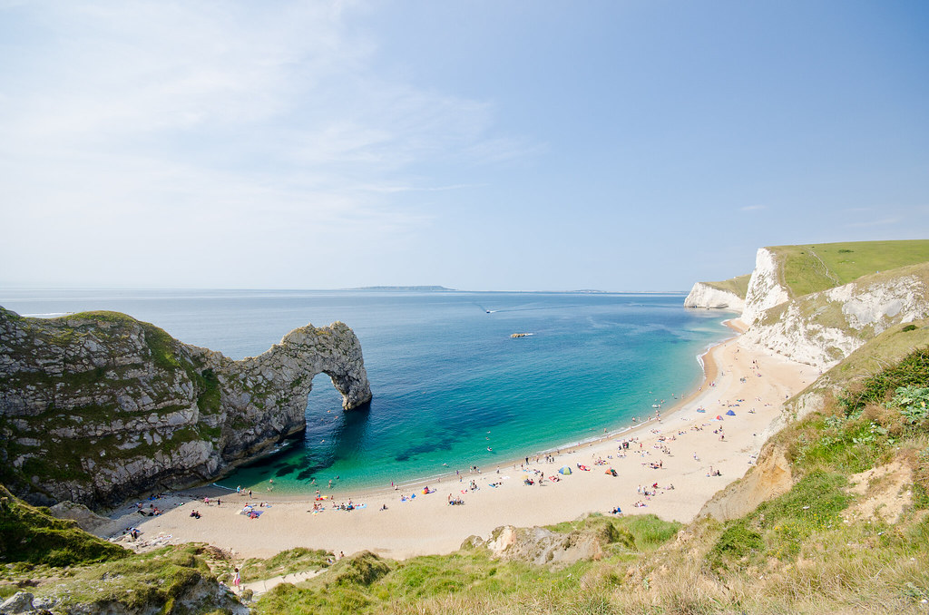 пляж Durdle Door