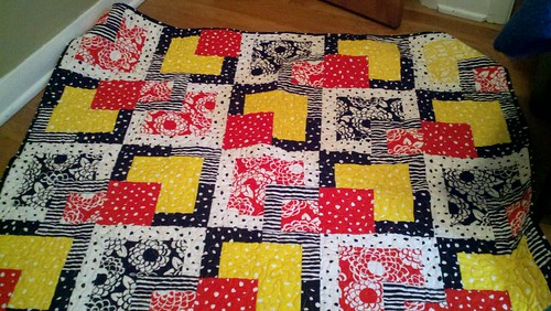 Completed quilt.