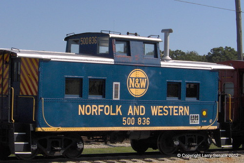 Norfolk and Western Caboose 500836
