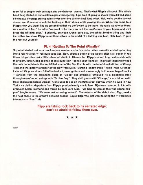 Flipp Promo Sheet A #2