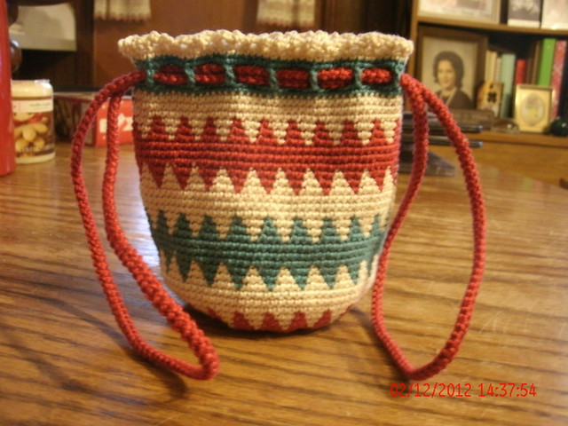 Tapestry Crochet Bag : Tapestry Crochet Bag Flickr - Photo Sharing!