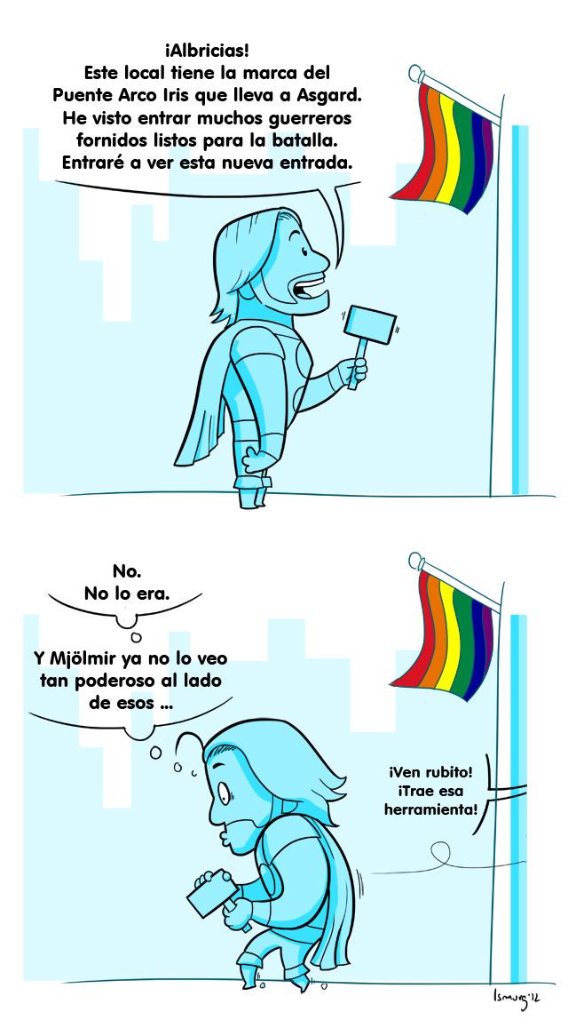 Thor and Rainbow