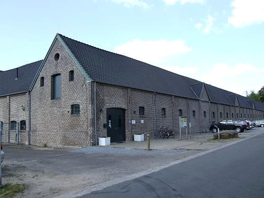 brewery building of Trappist Abbey Achel