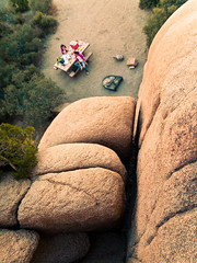 Below the Rocks, a Picnic