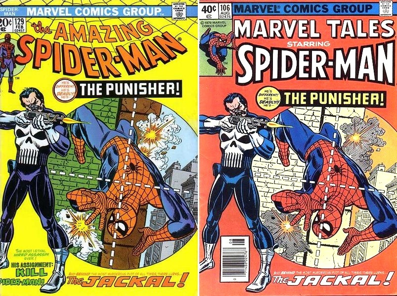 Marvel Tales #106 NM-(9.2) Reprints 1st app. of the Punisher ...