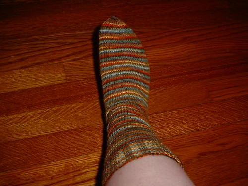 simple striped sock