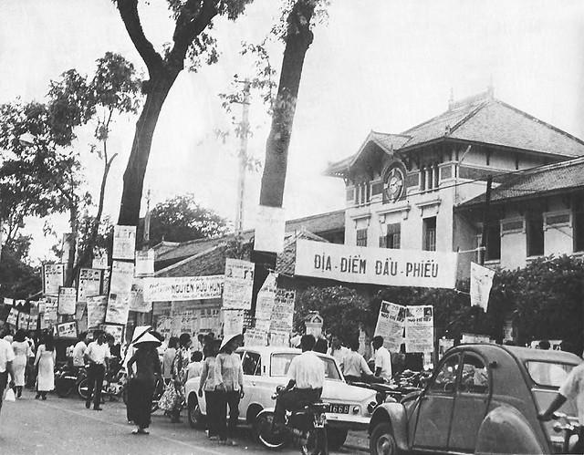 Bầu cử Hạ Nghị Viện năm 1971 tại trường Gia Long