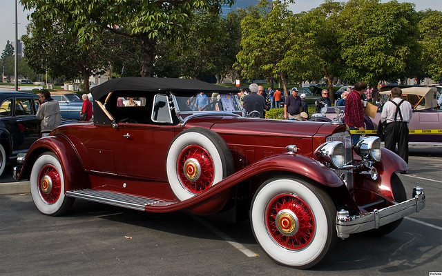1931 Packard 840 Roadster - maroon metallic - fvr 1920x1200
