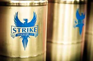 Strike Brewing Kegs