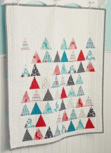Brrr! Triangles Quilt