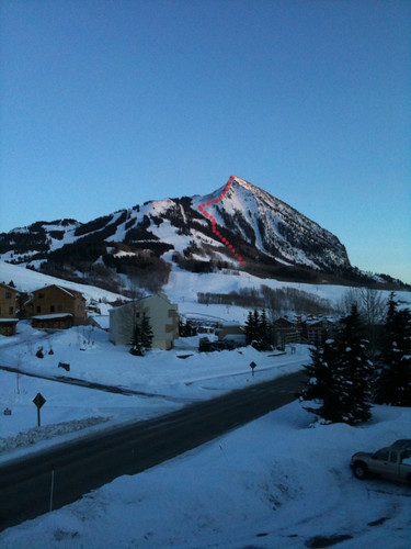 Guides Ridge