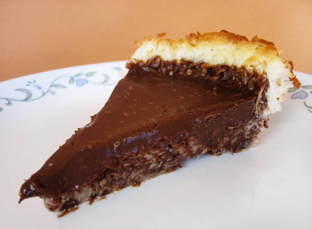 Chocolate Macaroon Pie - Recipe