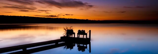 Lake calmness
