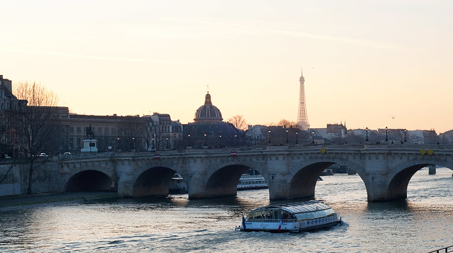 Eiffel Bridge Sunset 2
