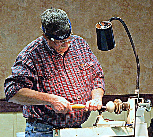 Keith Armstrong Demo by IKI Woodturners
