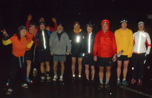 Capilano Canyon Night Run Mardigras - 2012 Starter Photo