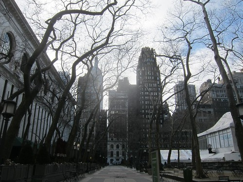 Bryant Park. NYC