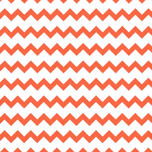 3-papaya_BRIGHT_tight_med_CHEVRON_12_and_a_half_inch_SQ_melstampz_350dpi