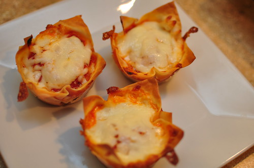 Lasagna Cups - Meg's Everyday Indulgence