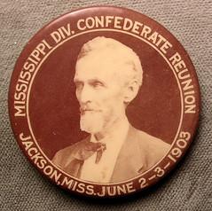 Jefferson Davis pinback