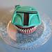 Cupcake de Boba Fett