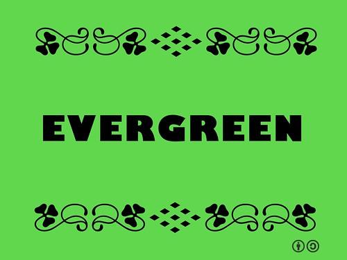 Buzzword Bingo: Evergreen