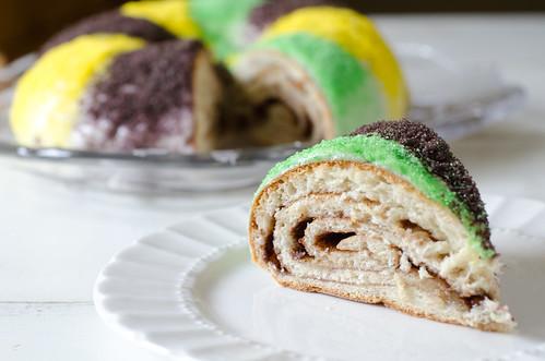 Mardi Gras King Cake 7