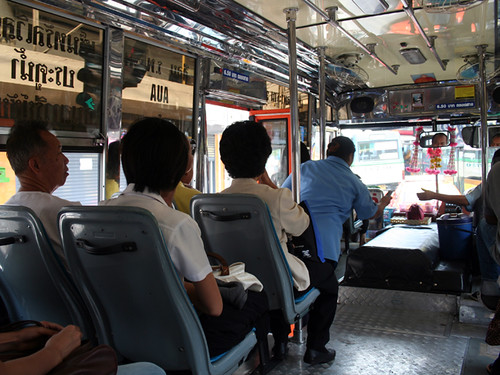 Autobús camino de Chatuchak