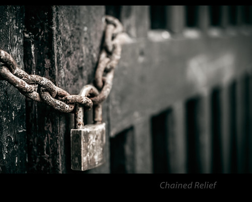 Chained relief by Rey Cuba