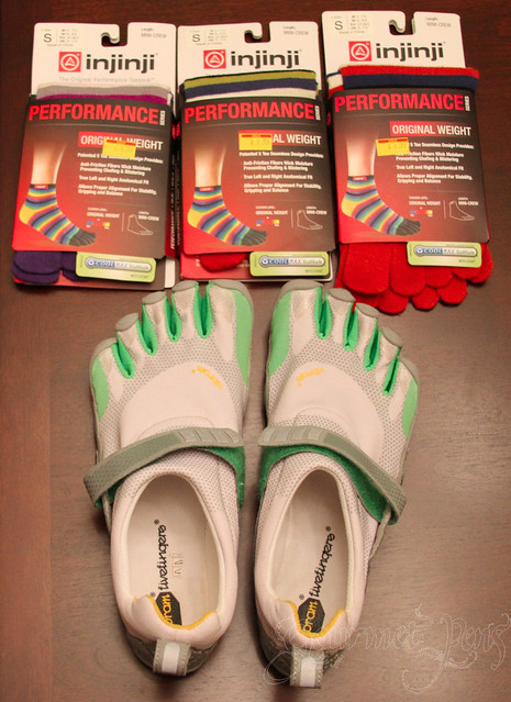 Vibram Five Fingers & Injinji