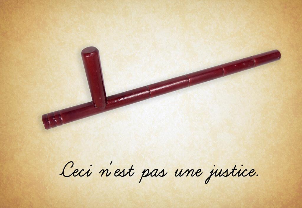 Ceci n'est pas une justice