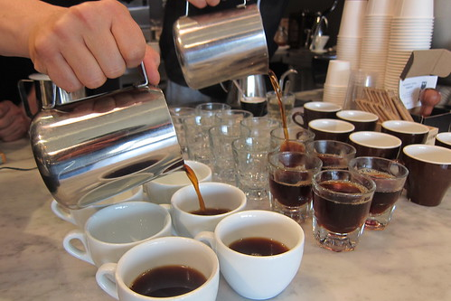 Celeb Coffee Showdown: Pouring Coffee