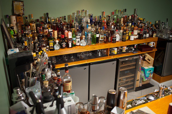 Duane Sylvestre's Home Bar