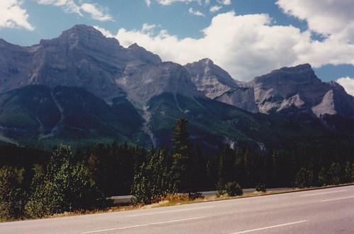 ** Entre Banff et le Lac Louise **