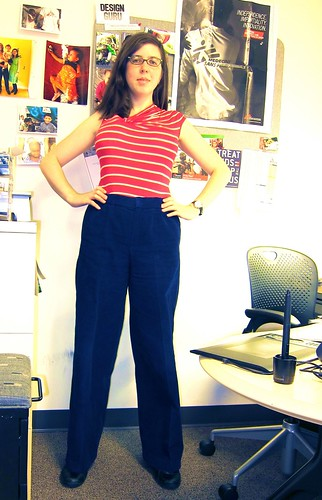 Trousers at Work...