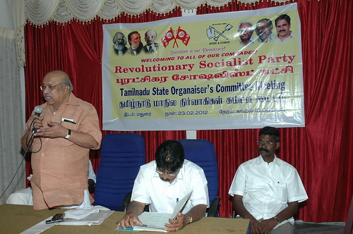 RSP All India General Secretary T.J Chandrachoodan and Tamilnadu State Convener Dr.A.Ravindranath Kennedy M.D(Acu).,attended the State Organaiser`s Committee Meeting at Madurai... 38 by Dr.A.Ravindranathkennedy M.D(Acu)