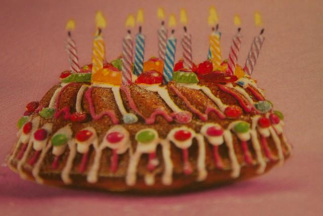 51 birthday cake